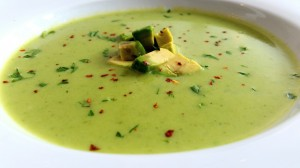 Avocadosuppe